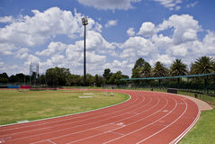Oval Running Track royalty free stock images