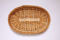 Oval shape basket Stock Image