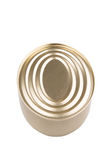 Oval Shape Tin Can II Royalty Free Stock Images