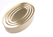 Oval Shape Tin Can IV Stock Images