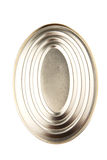 Oval Shape Tin Can IX Royalty Free Stock Photography