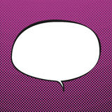 Oval Speech Bubble ,Retro Style Royalty Free Stock Image