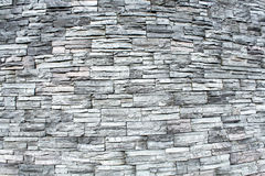 Oval stone wall  texture Stock Photo