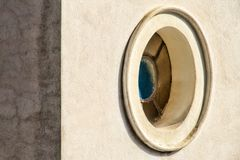 Oval window Royalty Free Stock Photos