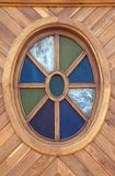 Oval window Royalty Free Stock Photo