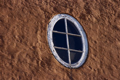 Oval window Stock Image