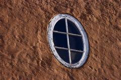 Oval window Stock Image