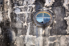 The oval window Royalty Free Stock Image