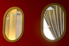 ovala fönster Royaltyfri Bild
