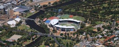 Ovale aereo di Adelaide Fotografia Stock Libera da Diritti