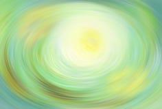 Ovale brouillé de vert de fond illustration de vecteur