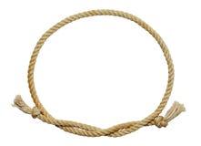 Ovale de corde photo stock