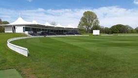 Ovale de Hagley à Christchurch Nouvelle Zélande Images libres de droits