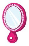 Ovale de miroir Photographie stock libre de droits