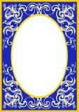 Ovale frame_002 Royalty-vrije Stock Foto