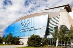 Ovale olimpico di Richmond fotografie stock libere da diritti