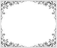 Ovalen inramar Royaltyfri Bild