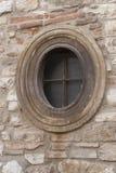 Ovales Fenster Lizenzfreie Stockbilder