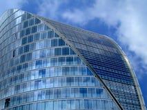 Ovales Gebäude Stockfotografie