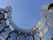 Ovales Geschäft, das 1 aufbaut Lizenzfreies Stockbild