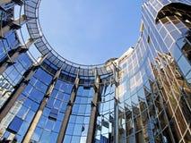 Ovales Geschäft, das 6 aufbaut Lizenzfreies Stockbild