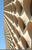 Ovales Windows bis zur Himmel â Beschaffenheit Lizenzfreie Stockfotos