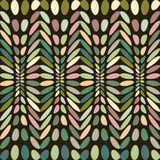 Ovals colorful abstract background. Stock Photos