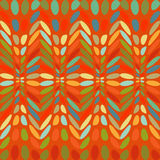 Ovals colorful abstract background. Vector illustration oval Royalty Free Stock Photography