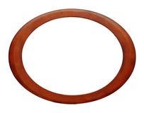 ovalt bildträ för ram fotografering för bildbyråer