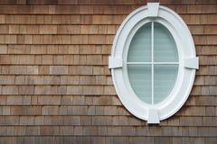ovalt fönster royaltyfria bilder