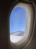 ovalt fönster royaltyfri bild