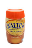 Ovaltine Malt Drink. Ovaltine (Ovomaltine) is a brand of milk flavoring made with barley malt extract Stock Photography