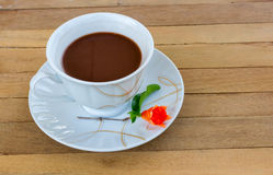 Ovaltine was placed on the table. Ovaltines was placed on the table Royalty Free Stock Image