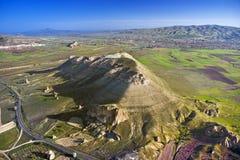 ovanför cappadocia Arkivfoto