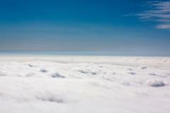 Ovanför clouds4en royaltyfri bild