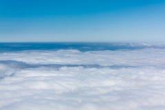 Ovanför clouds5en royaltyfria foton