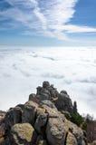Ovanför clouds6en royaltyfri bild