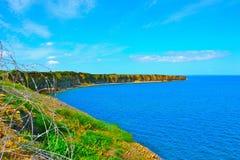 Ovanför de Normandie stränderna Royaltyfria Foton