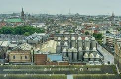 Ovanför Dublin Arkivfoton