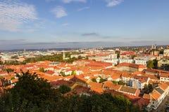ovanför gothenburg Arkivfoto
