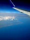 ovanför havet Arkivfoto