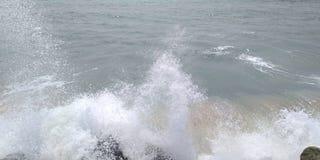 ovanför havskustsikt royaltyfria foton