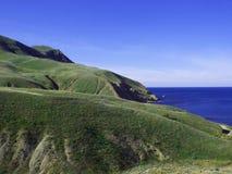 ovanför havskustsikt Royaltyfri Fotografi