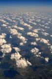 Ovanför molnen royaltyfri foto