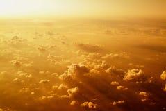 Ovanför molnen Fotografering för Bildbyråer