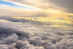 Ovanför molnen Royaltyfri Fotografi