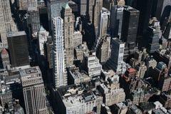 ovanför New York Royaltyfri Foto