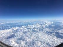ovanför skyen royaltyfri bild