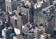 ovanför stad Royaltyfri Fotografi