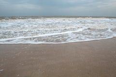 ovanf?r havskustsikt Strand Hav av Azov arkivbilder